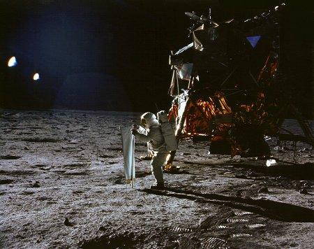 Аполлон 11: как поймать немного Солнца
